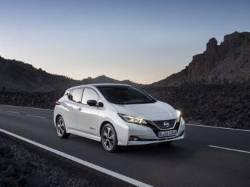 Nissan LEAF nog altijd de populairste elektrische auto in Europa